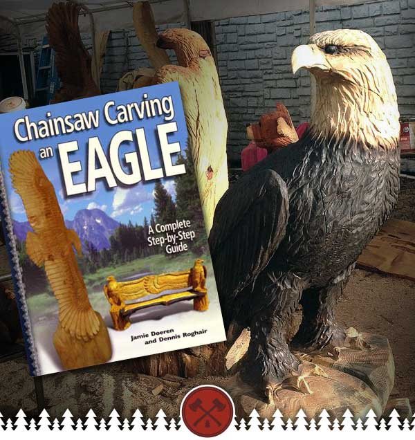 Carve a Chainsaw Eagle