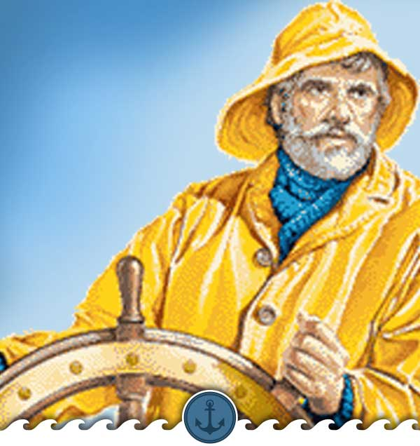 Fisherman's Yellow Rain Coat