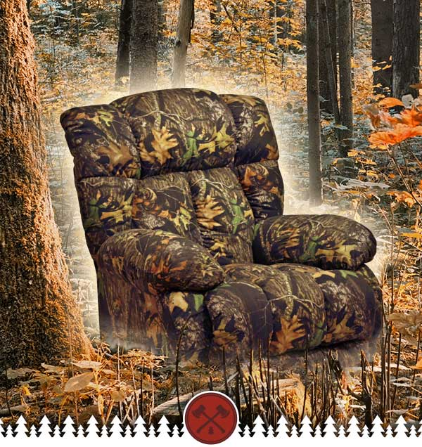 Camo Recliner Lazy Boy