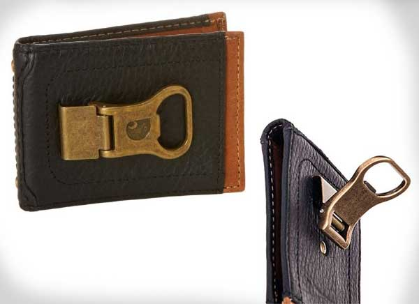 Long Neck Wallet Beer Bottle Opener