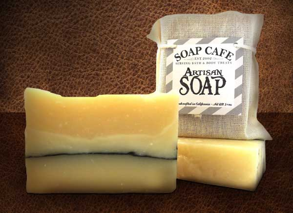 Leather Scented Soap
