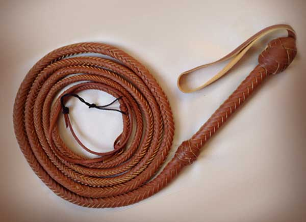 Real Leather Bull Whip!