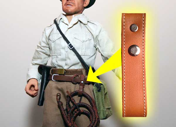 Leather Whip Holster