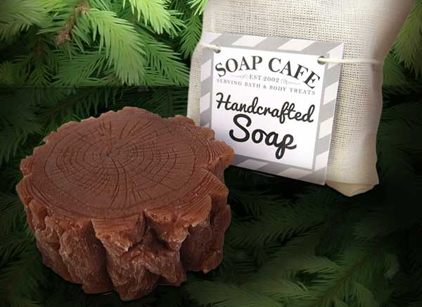pine smelling scented soap