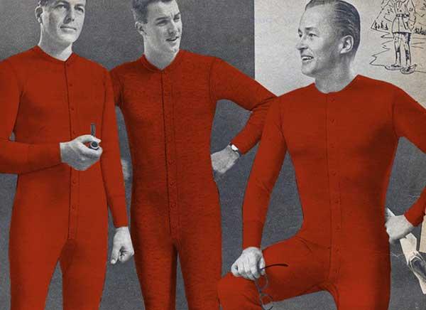 Union Suit Long Johns