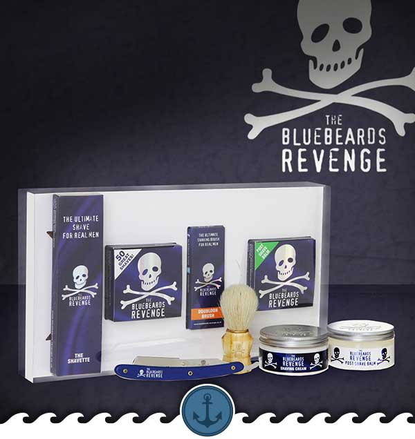 BlueBeard's Revenge Beard Shaving Kit