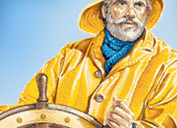 Fisherman's Raincoat Yellow