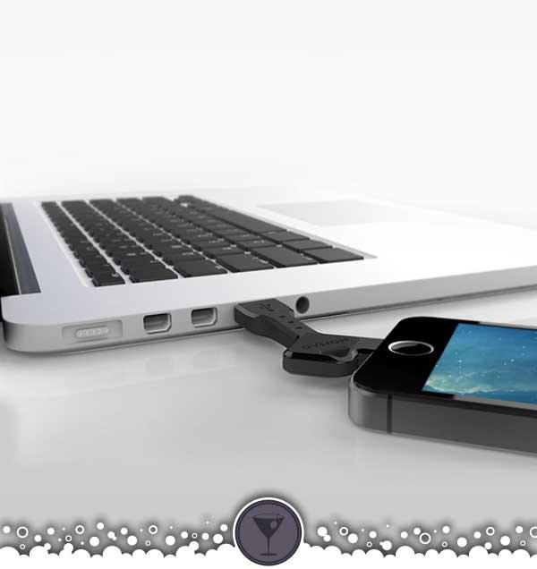 NomadKey Key-Sized USB Cable