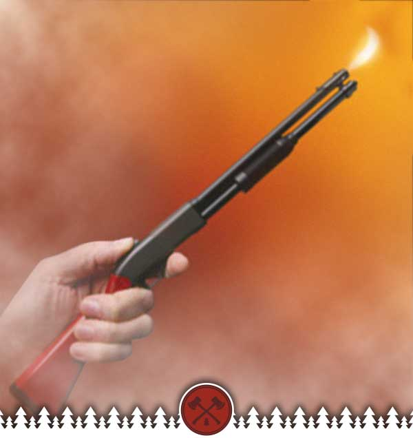Lever Action BBQ Rifle