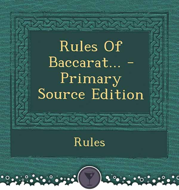 Baccarat Rule Book