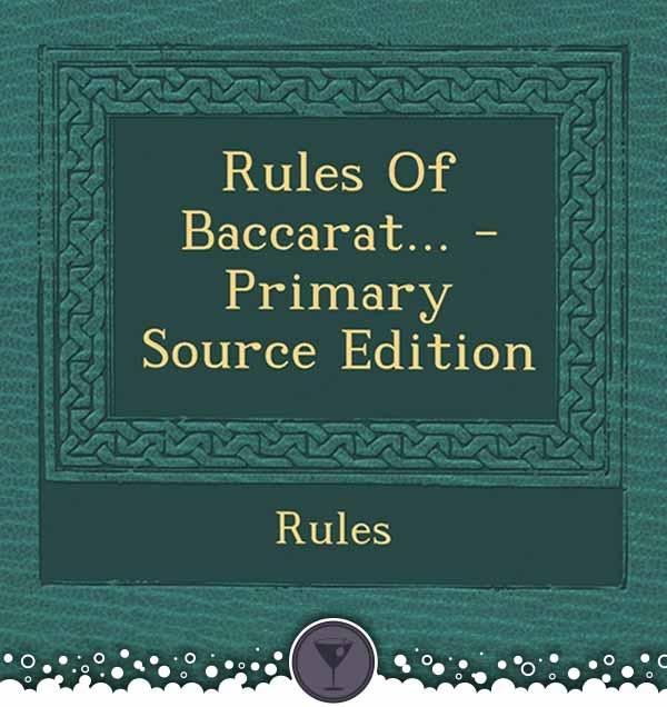 Baccarat Rule Book