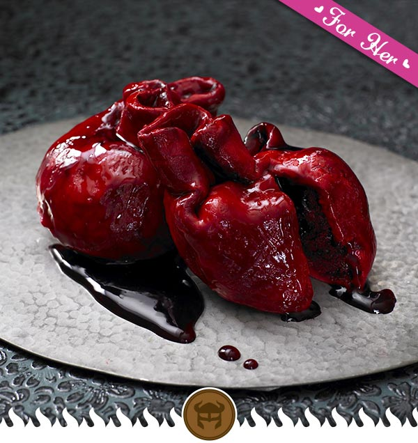 Bloody Heart Cake - How To