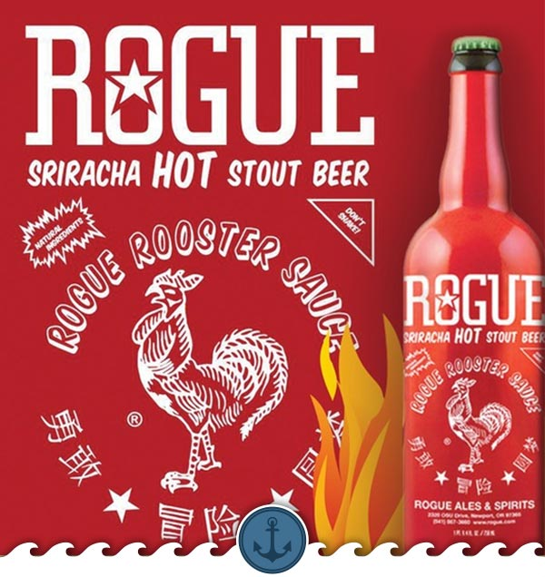 Sriracha Hot Stout Beer